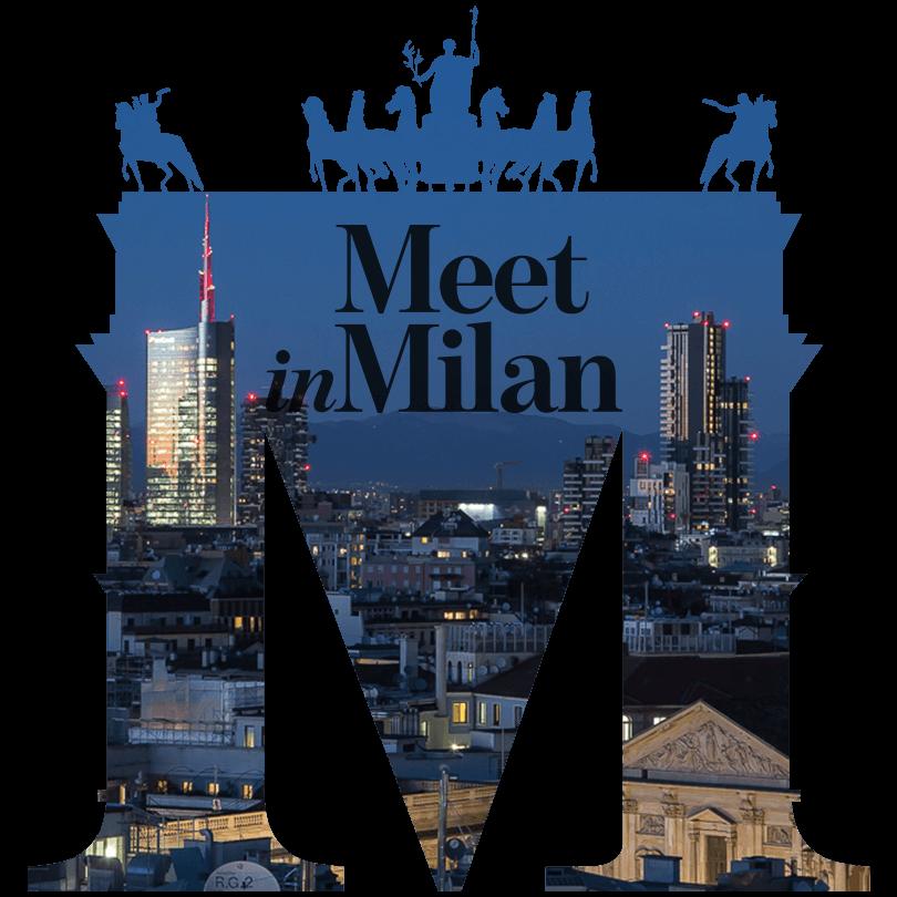 Meet in Milan city