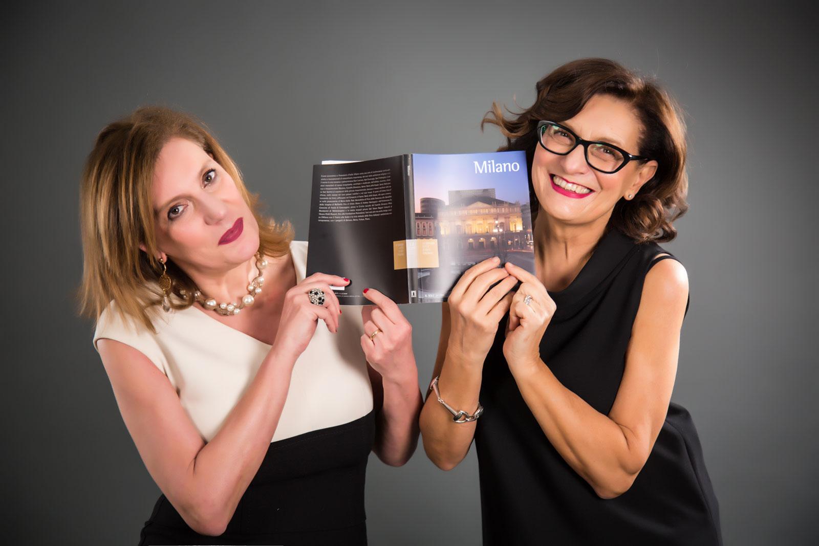Maria Luisa Ciccone e Anna Chiara Arriga